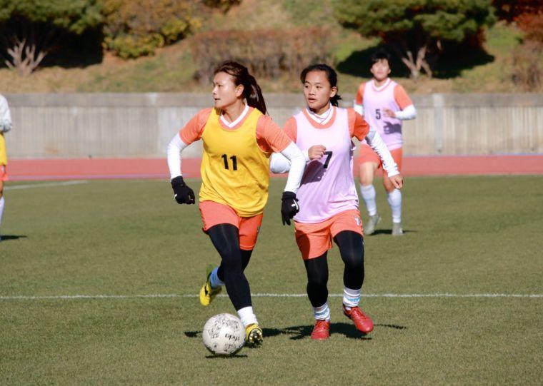 中華女足備戰東亞4強賽。全國足協提供