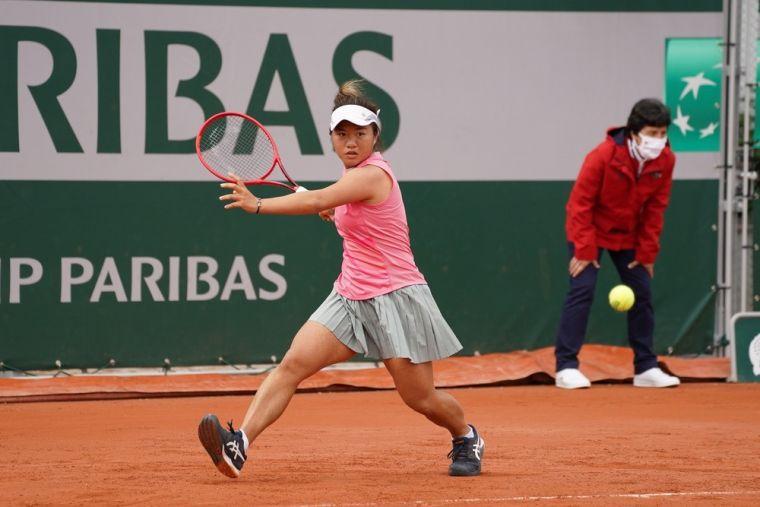 梁恩碩打進法網女單會外第3輪。大會提供