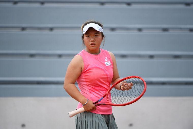 20歲小將梁恩碩會外二連勝晉級美網會內只差一場。資料照片