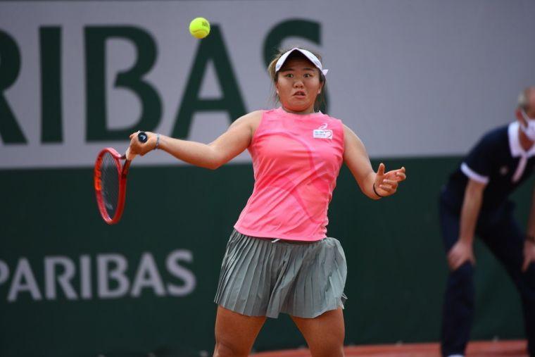 梁恩碩成功打進自己的職業生涯第1個大滿貫會內賽。大會提供