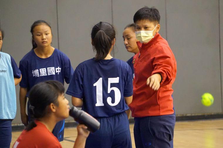 埔里以女壘球員應戰。大會提供
