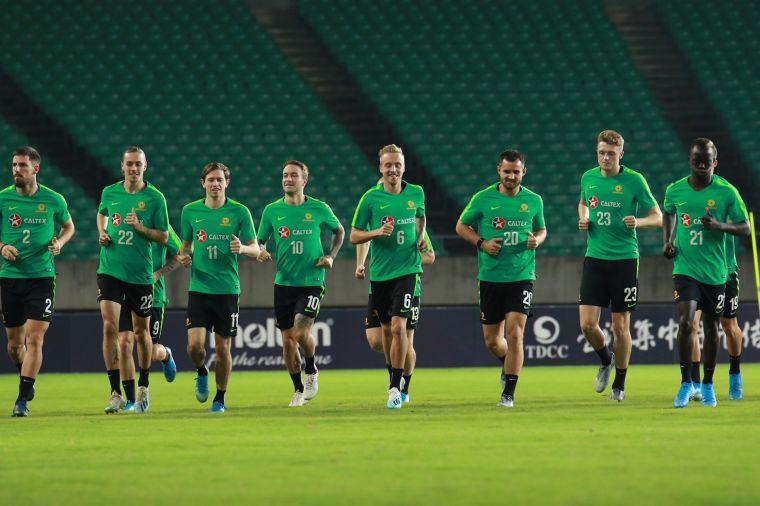 澳洲這次23人有20人都是旅外球員。中華足協提供