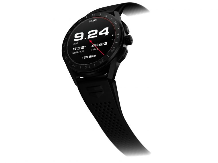 TAG Heuer泰格豪雅智能腕錶。官方提供