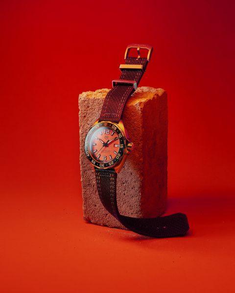 TAG Heuer泰格豪雅F1系列三針腕錶。官方提供