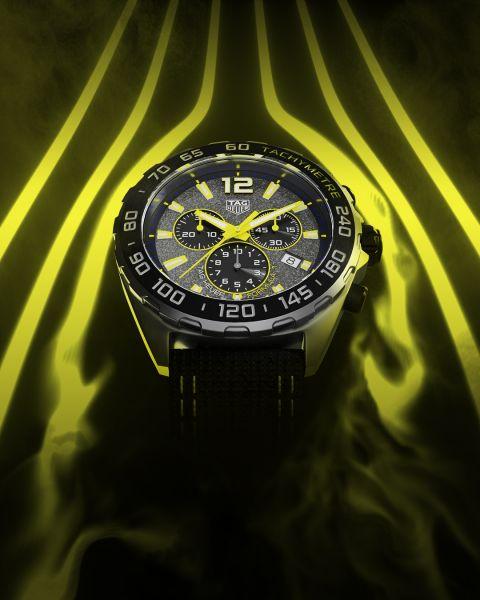 TAG Heuer泰格豪雅F1系列計時腕錶。官方提供