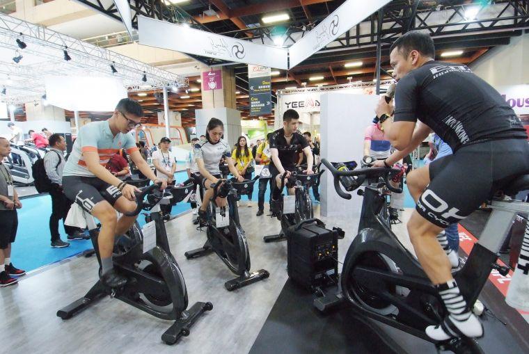 TaiSPO實體展將於2021年3月3日至6日於南港展覽館1館登場,參觀者可於現場體驗最新智慧體育技術。官方提供