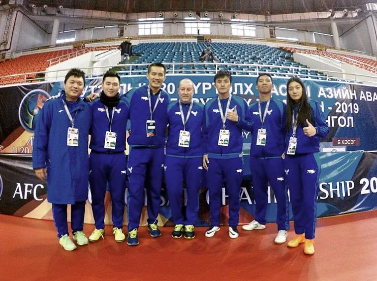 由前足協引進的巴西籍顧問Adil是中華隊贏球的大關鍵。張仟縈提供