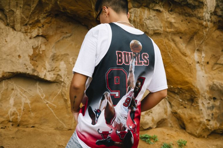 NBA Behind the Back Tank Collection。官方提供