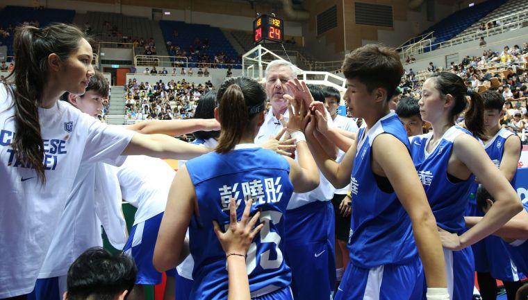 台灣女籃重新出發。李天助攝