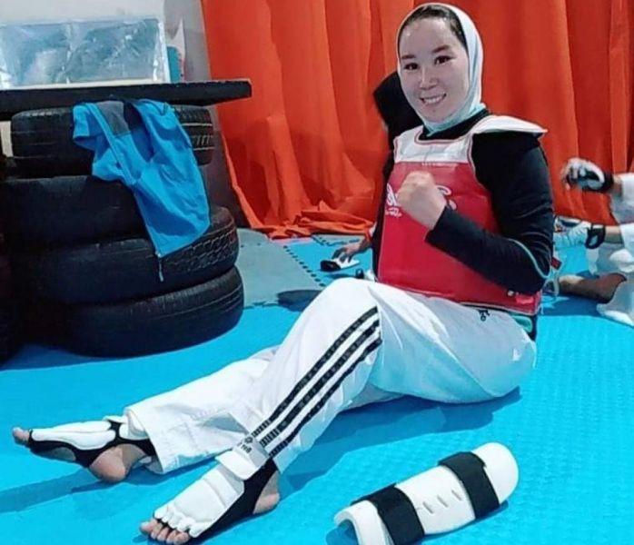 胡達迪將成為阿富汗史上第一位帕運女子選手。摘自東京帕奧官網