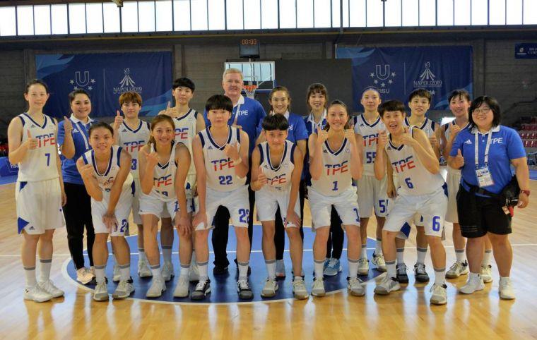 中華女籃隊。資料照