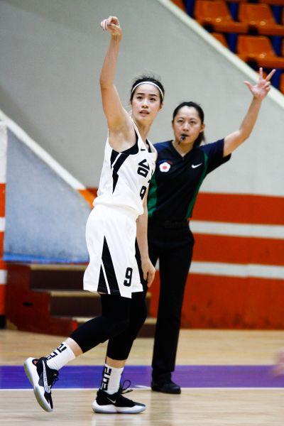台元女籃林文佑:身為中生代,不能老是依賴教練跟(蔡)佩真姐。