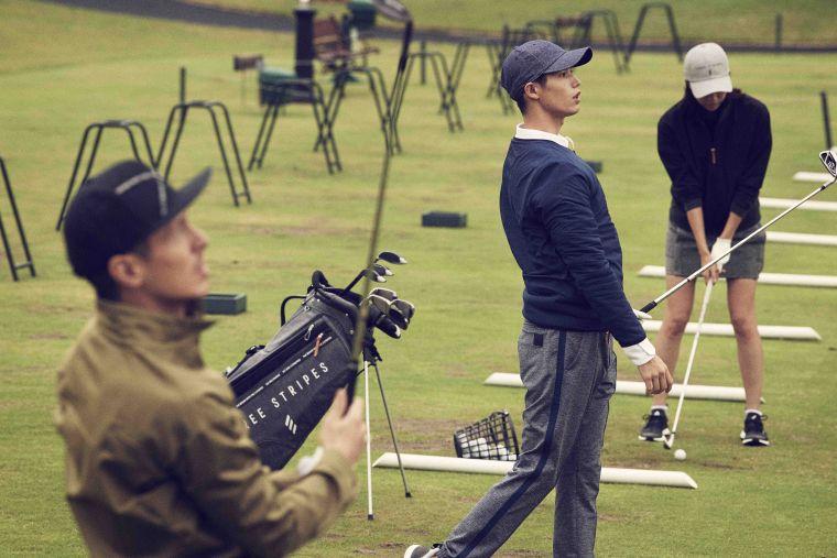 adidas Golf 推出獨具風格的adiCross秋冬系列。adidas提供