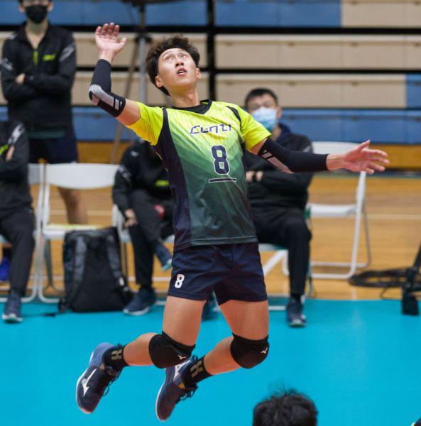 conti隊長吳信賢。中華民國排球協會提供