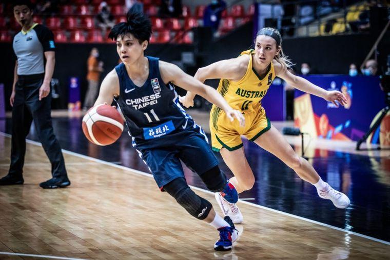 中華女將表現出色。取自FIBA官網
