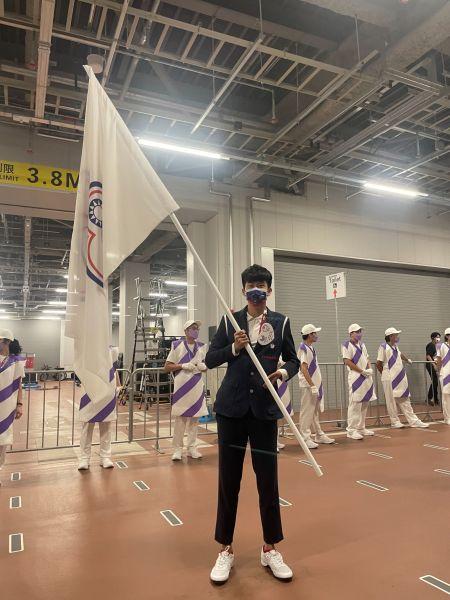 方振宇首度參與帕運,且有機會在閉幕典禮擔任掌旗官。體育署提供