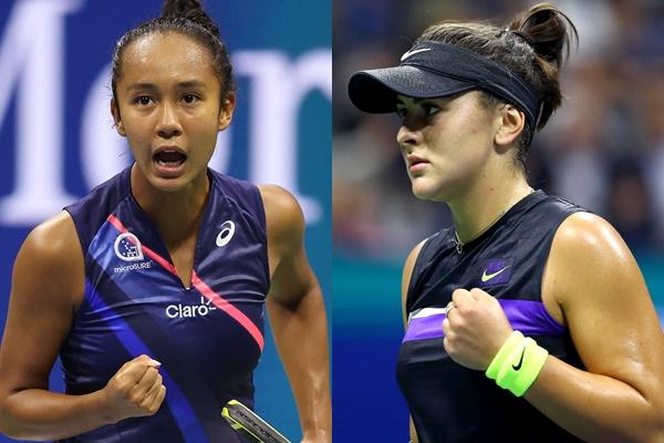 三年內有2名加拿大球員闖進美網女單決賽。摘自美網推特