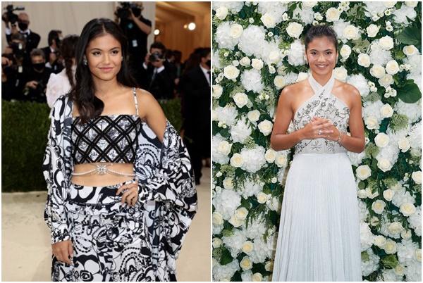 拉杜卡努接下Tiffany & Co珠寶代言人。合成照片