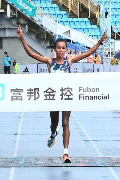 衣索匹亞的維吉在女子組奪冠。(圖/大會提供)