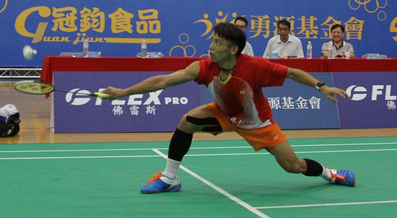 土銀男單林祐賢贏得生涯首座全國排名賽冠軍/黃秀仁攝