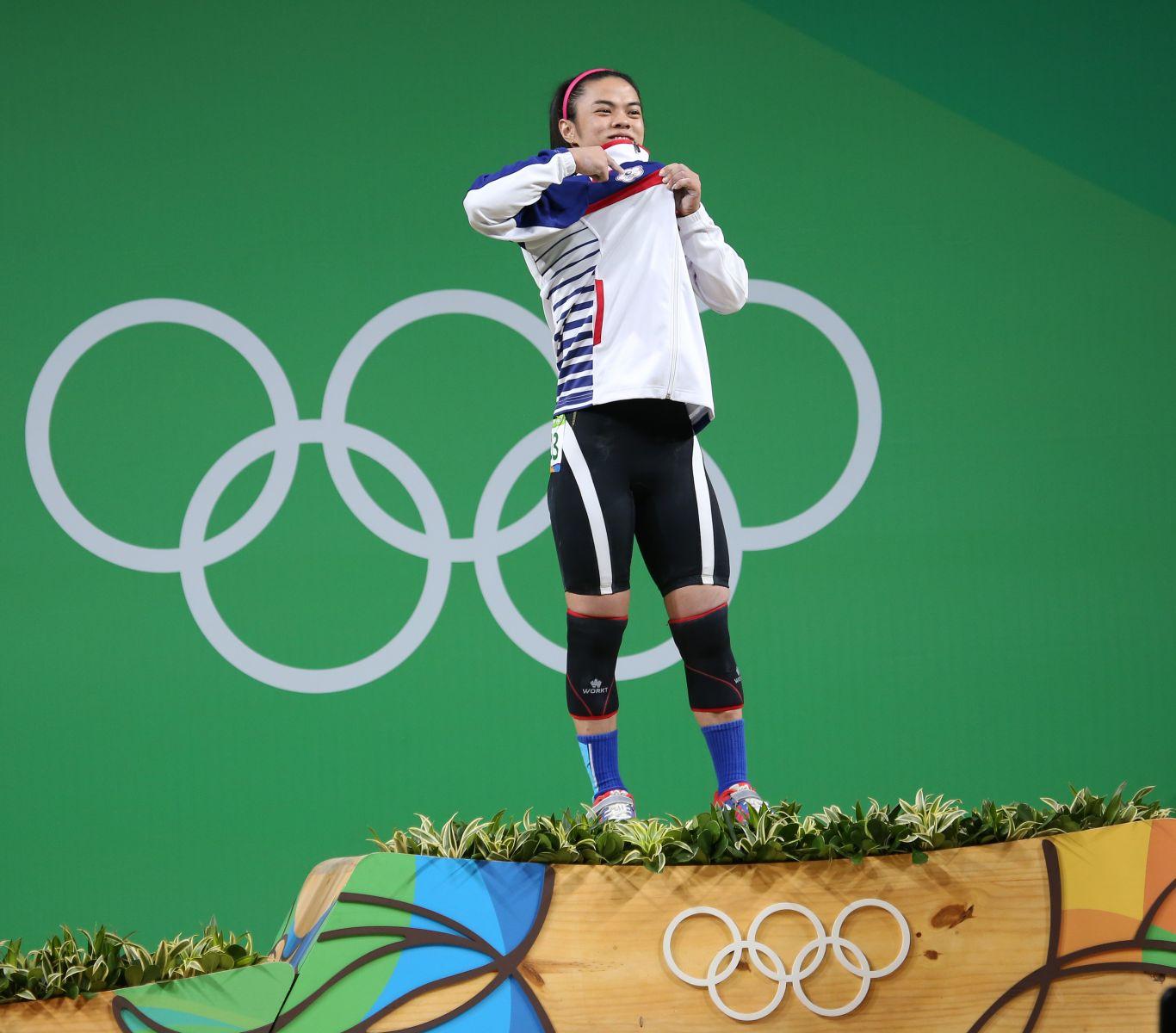 許淑淨奧運金牌連霸。攝影/李天助