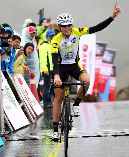 登山王John Ebsen奪得冠軍。(中華自行車騎士協會提供)