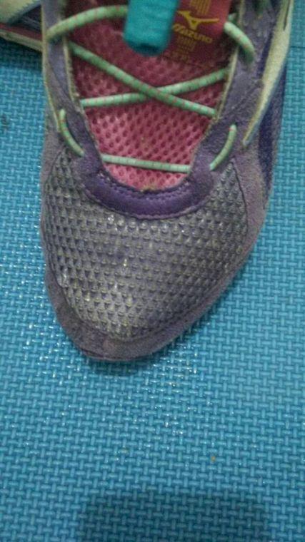 噴到步鞋上也有防水效果。