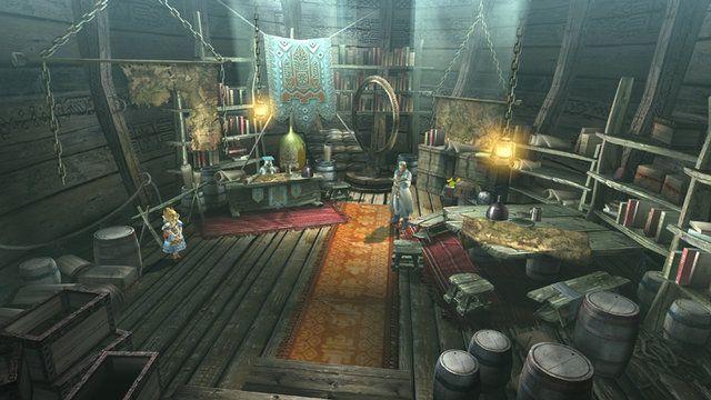 龍識船的研究室