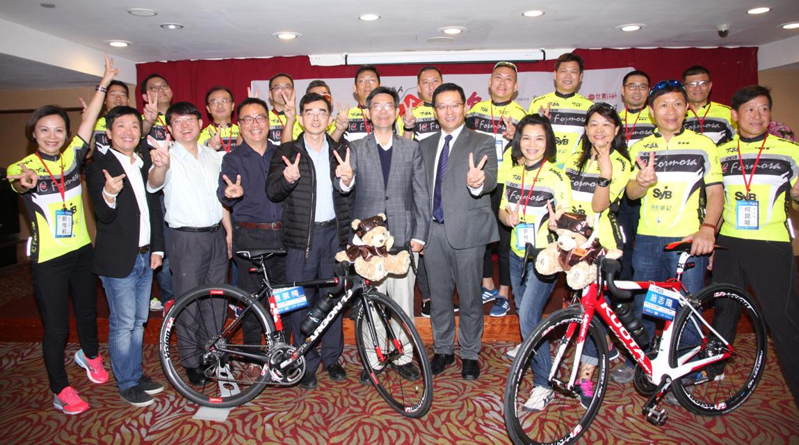 「看見台灣大環島1314K騎行記」,自2月24日起展開10天大環島行程。