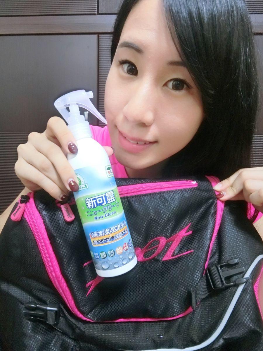 前美女蛙后李詹瑩肯定新可靈的抗水防菌功效。