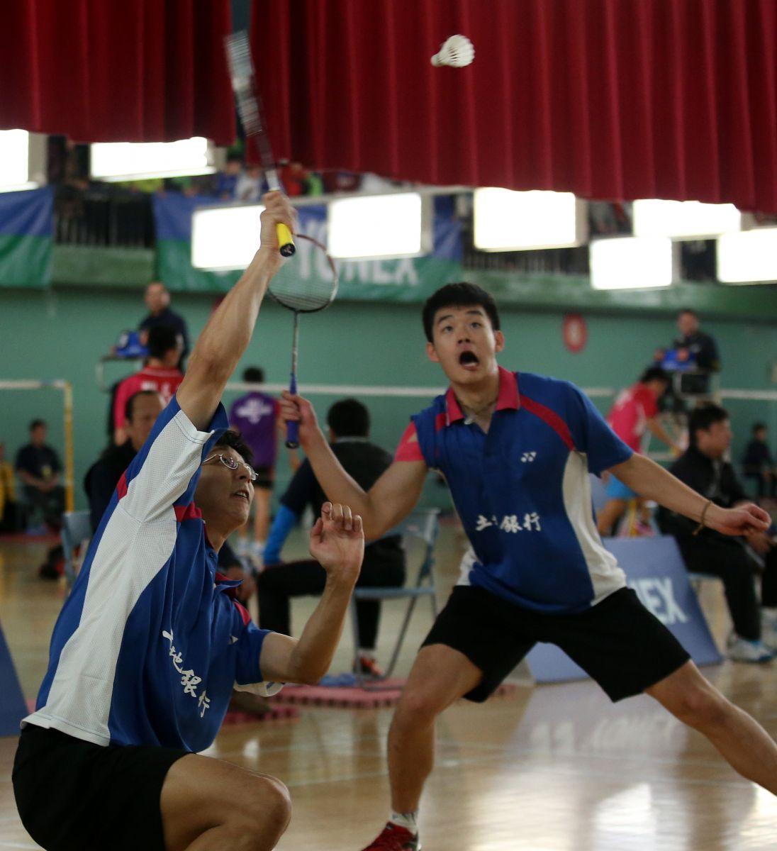 土銀男雙陳宏麟(左)王齊麟逆轉勝艱苦摘冠(李天助/攝)