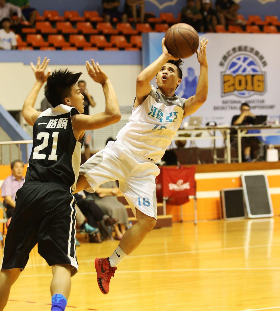 鴻亞無緣連霸。圖/中華民國籃球協會提供