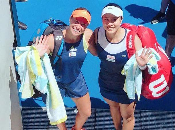 網球》職業女網雙嬌詹詠然、謝淑薇 杜拜女雙閃電獲勝雙晉8強