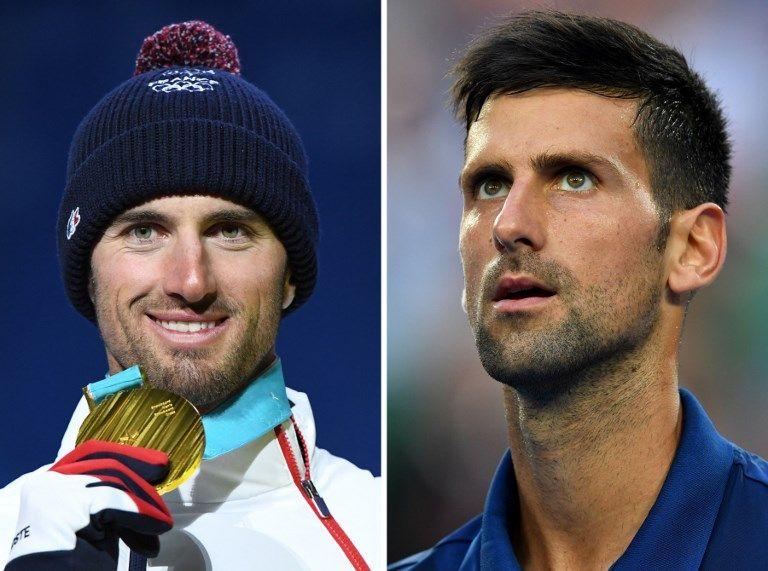 冬奧》找到失散多年弟弟 喬帥約法國金牌選手法網見
