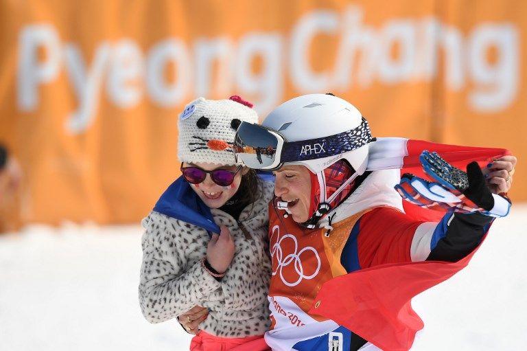 冬奧》自由式滑雪半管賽 法國媽媽選手奪銀展女力