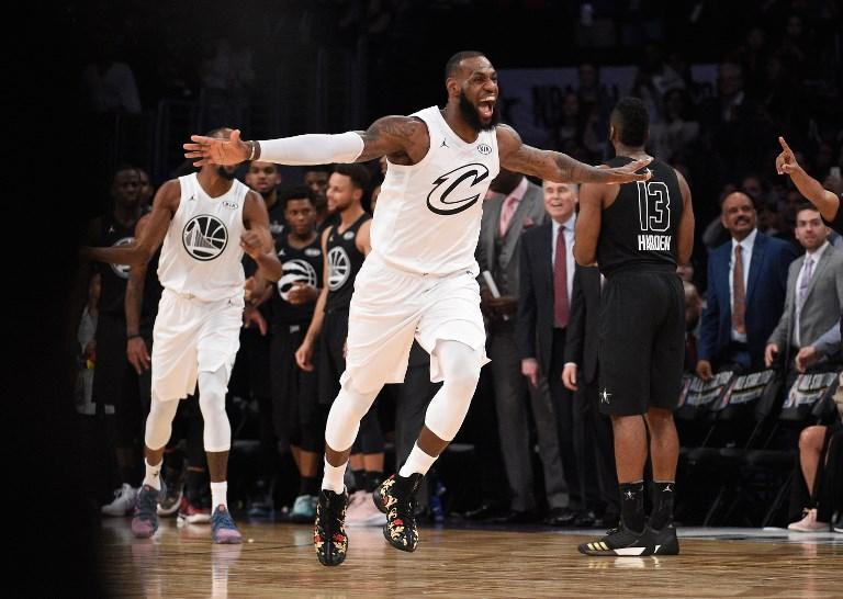 NBA》率隊險勝  詹姆斯第3次當選全明星MVP